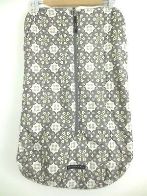 New Petunia Pickle Bottom Stroller Bunting Bag Gray/ Grey Muff Baby NWOT