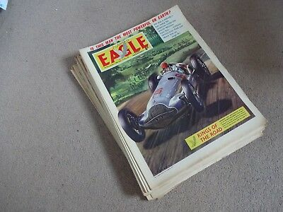 Eagle Vol 13 July to December 1962 (26 issues)