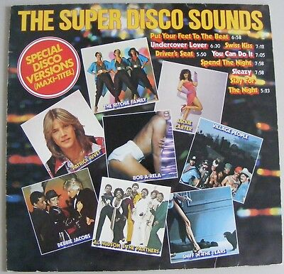 THE SUPER DISCO SOUNDS - 8 Maxi Disco Hit Versionen 1979