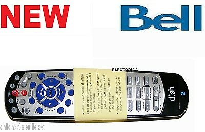 Brand New Remote Control Bell 6131 6141 9241 9242 Dishnet Tv 20.1 5.4 Ir