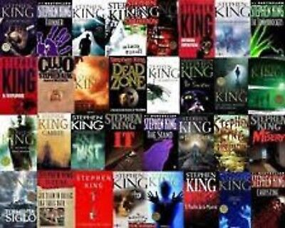 All Stephen Kings Movies, Audiobooks and Kindle Ebooks Digital Delivery