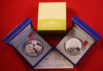 1,5 Euro Silber Frankreich 2007 Paul Emile Victor In Pp