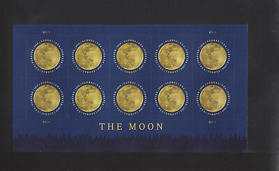 5058 The Moon Global 2016 Forever Sheet of 10