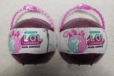 Lot Of 2 L.O.L. Surprise! Pearl Style 2 Unwrapping Toy