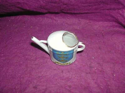 German Crested China Watering Can. Hull.