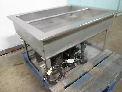 """H.D. COMMERCIAL S.S. 40"""" x 32"""" REFRIGERATED """"DROP-IN"""" COLD WELL/SALAD BAR INSERT"""
