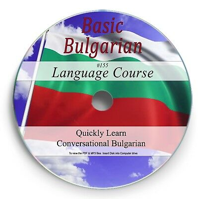 Learn to Speak Bulgarian - Language Course - 19 Hrs Audio MP3 +2 Books on CD 155