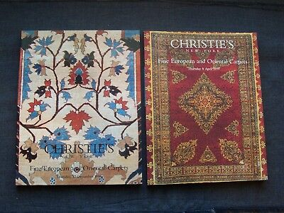 Christie's New York auction catalogs  Fine European and Oriental Carpets 1998-99