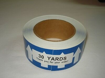 "Pipe Banding & Directional Flow Tape 2"" X 30-yards Blue w/ White Arrows"