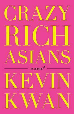 Crazy Rich Asians by Kevin Kwan Paperback Book Free Shipping!