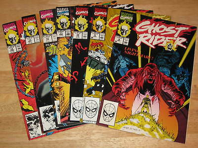 Ghost Rider  Lot of 7  #8 to 14 all pictured  Unread High Grade Marvel Comics