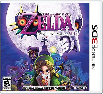The Legend of Zelda: Majora's Mask 3D [Nintendo 3DS N64 Remake Adventure] NEW