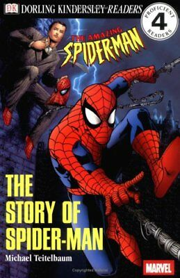 (Good)-The Story of Spider-Man (DK Reader - Level 4 (Quality)) (Paperback)-Teite