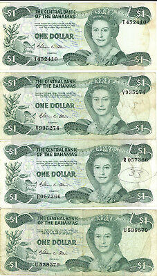 Lot 7 Bahamas $1 Currency Banknote 1984 - Smith Signature