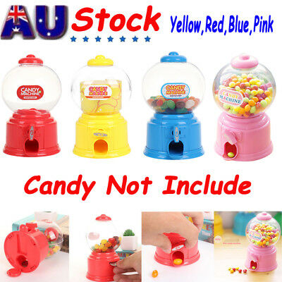 Christmas Candy Dispenser Machine Gumball Gum Ball Snacks Storage Xmas Gifts AU