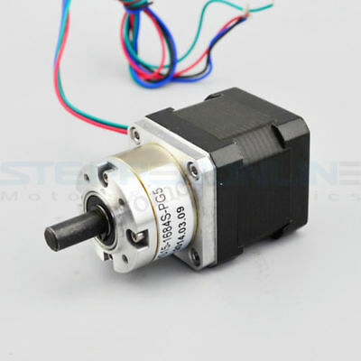 Extruder Gear Stepper Motor Ratio 3.7:1 Planetary Gearbox Nema 17 Step Motor  !