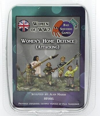 Bad Squiddo HF005 Women't Home Defense (Attacking) Women of WW2 Female Militia