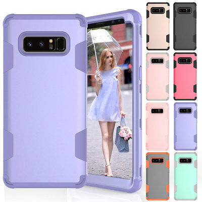 Heavy Duty Rugged Shockproof Cover Case For Samsung Galaxy S9 S8 Plus / Note 9 8