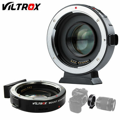 VILTROX EF-M2 Auto Focus Reducer Speed Booster Adapter for Canon Lens to M43 MTF