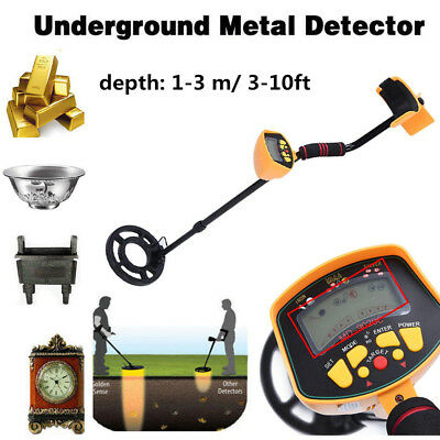 Metal Detector MD9020C Waterproof Underground Gold Coin Hunting Treasure Search