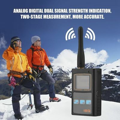 IBQ102 LCD Handheld Radio Frequency Counter Meters 10Hz -2.6GHz with UHF Antenna