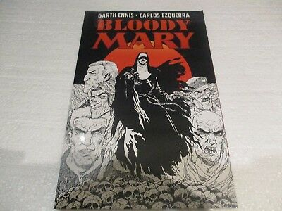 bloody mary paperback graphic novel garth ennis