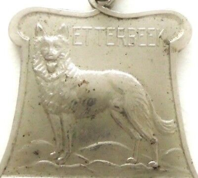 Belgian Shepherd Dog - Ancient Art Medal Pendant