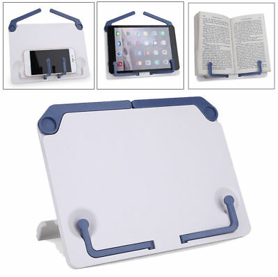 Foldable Desktop Sheet Music Stand Support Adjustable Table Book Read Holder SD