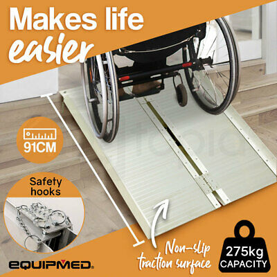 Wheelchair Mobility Ramp Scooter Ramps Aluminium Disabled Portable Access