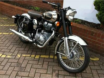 Nuova royal enfield classic custom chrome promo 16
