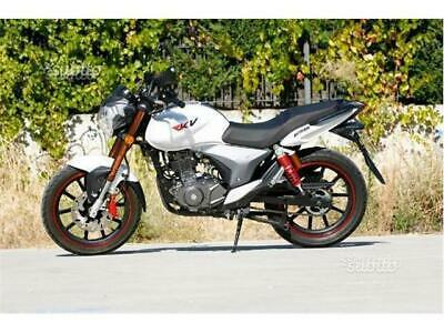 New naked benelli keeway rkv 125 white 2016