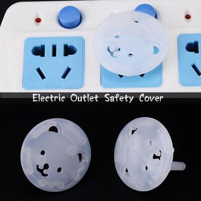 20x Outlet Socket Covers Babies Children's Safety Protector for EU Plug Sockets