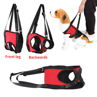 2Type Dog Lift Support Harness Injury Front Rear Leg Assist Pet Carrier Aid Vest