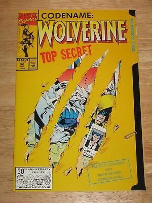 Wolverine 50  die cut cover  Marvel Comics  Unread High Grade