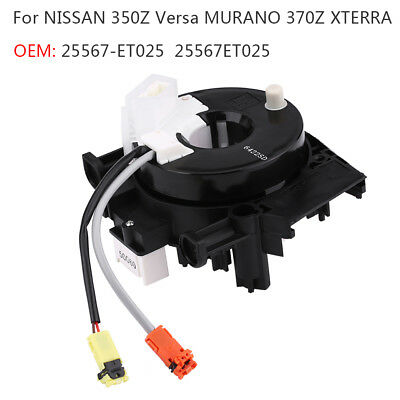 For NISSAN VERSA 350Z XTERRA Murano Spiral Cable Clock Spring OEM 25567ET025