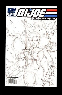G.i. Joe Real American Hero #158 Ri Sketch Variant  Near Mint  Comic Kings