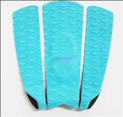 3Pcs New Eva Surfboard Surf Water Sports Premium Deck Grips Tail Pads Tractio cc