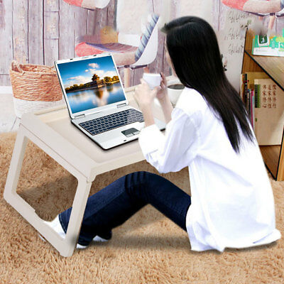 Adjustable Portable Foldable Laptop Desk Computer Table Tray Bed Sofa Stand Mini