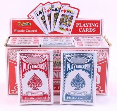 PLAYING CARDS - Poker Gaming Snap etc Deck Kings Queens Ace - Pack of 1, 2 or 12