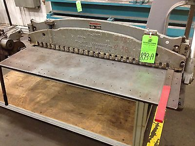 DiAcro No 36 Bench Model Manual Shear