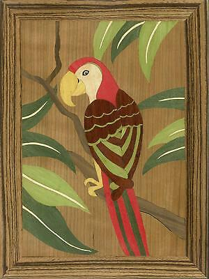 Polly: Traditional Marquetry Craft Kit of a parrot by Cove Workshop: Age 12 plus