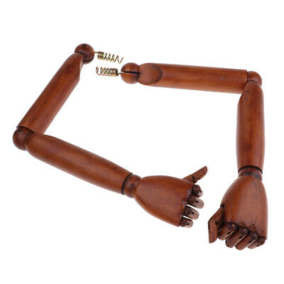 1:1 Imitation Design Lotus Wood Mannequin Arms Hands Movable Limbs Model #2