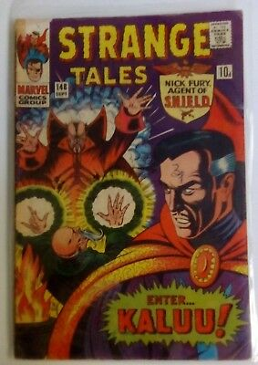 Strange Tales 148 Dated September 1966. Very Good. Doctor. Strange