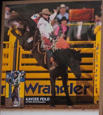 RODEO POSTER - PRCA World Champion, Kaycee Feild; PRCA;PBR