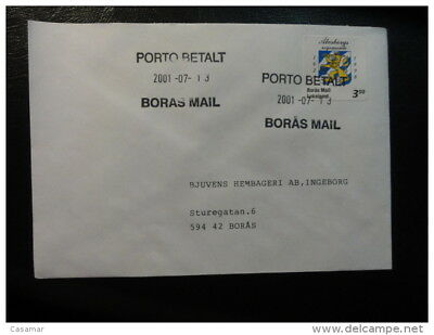 BORAS MAIL LOKALPOST Local Stamp On Cover