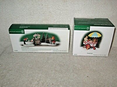 "2 Dept. 56 Heritage Village Collection ""Christmas in the City"" Series Sets"