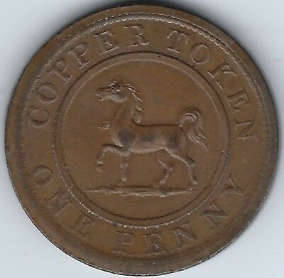 GREAT BRITAIN Birmingham & South Wales 1812 Penny Withers 183 In 3764