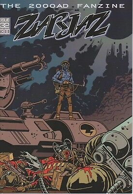 Zarjaz 2000ad Fanzine 32 Rogue Trooper Judge Dredd ABC Warriors Flesh Anderson