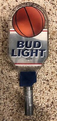 Bud Light basketball beer keg tap handle *broken
