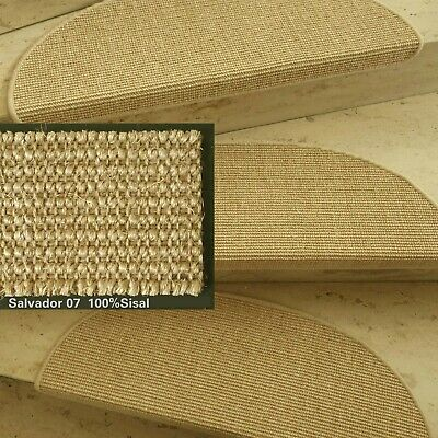Mitex Escalera Estera Sisal Bouclé Multa Color 07 Chablis Fibra Natural